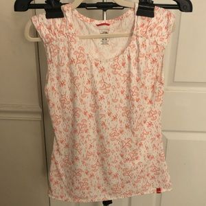 North Face floral print tee